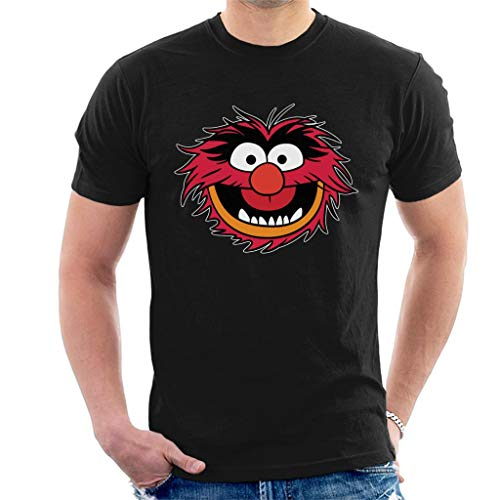 Disney Classic The Muppets Animal Grin Men's T-Shirt