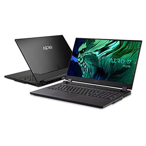 【RTX3070 搭載】GIGABYTE AERO 17 4K HDRパネル採用 視聴も編集も高画質 ノートPC/Microsoft Azure AI/ 17.3インチ/WIN 10 Pro/日本語配列 (4K  RTX 3070   i7-11800H   16G*2  1TB SSD)