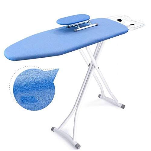 C-J-Xin Gekleurde strijkplank, Versterken Verleng strijkplank Indoor Metal Strijkservice tafel, met Kleine mouwplank 110 * 31 * 85cm Wasserijbenodigdheden (Color : Gray, Size : 110 * 31 * 85CM)