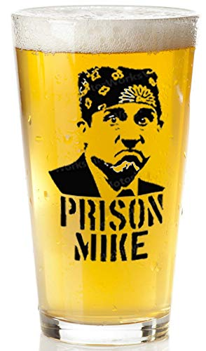 Prison Mike Beer Glass