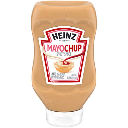 Heinz Mayochup Mayonnaise & Ketchup Sauce Mix (16.5 oz Squeeze Bottle)