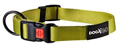Karlie DOGX2GO Halsband L: 45 - 65 cm B: 25 mm grün