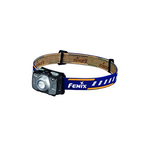 Fenix Sport HL30 Linterna frontal LED 2018 con pilas AA, color gris, negro, pequeño