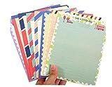 32PCS Special Design Assorted Color Lovely Writing Papeterie Papier et 16Pcs Enveloppe Letter Set
