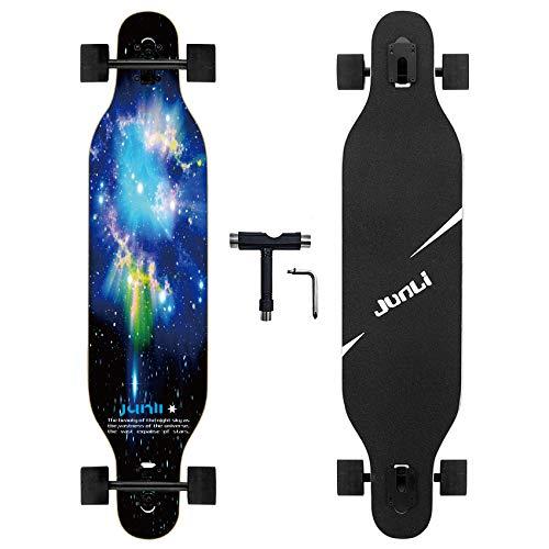Junli 41 Inch Freeride Longboard Skateboard