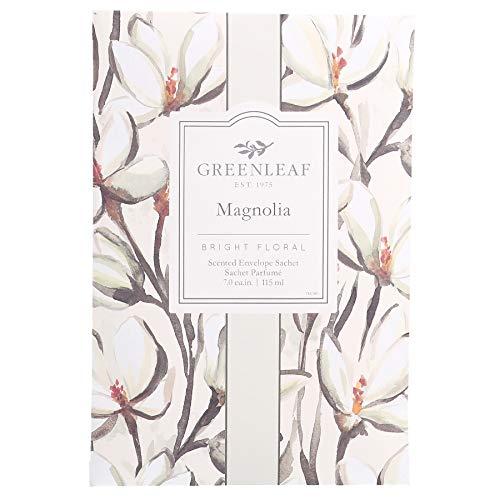 Greenleaf Saquito de perfume grande, fragancia Magnolia