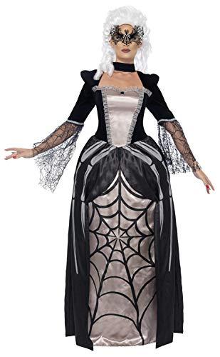 Smiffy's - Disfraz de baronesa viuda, color negro (43741L)