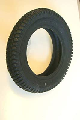 300x8 Black Block Tread Mobility Scooter Tyre 3.00-8 for Cordoba & Powerchairs