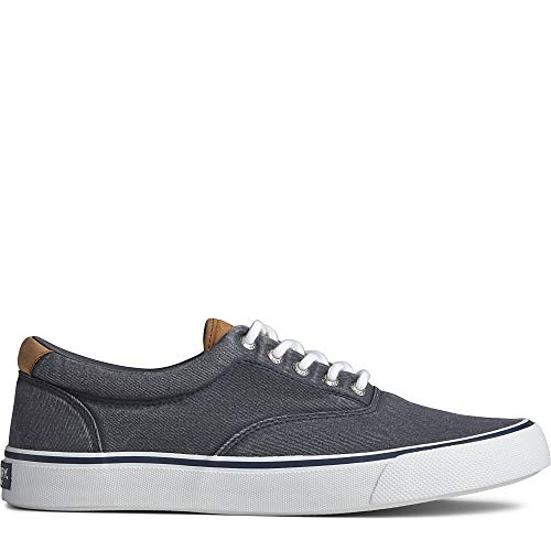 Sperry Men's Striper II CVO Core Sneaker, SW Navy, 11.5 M US
