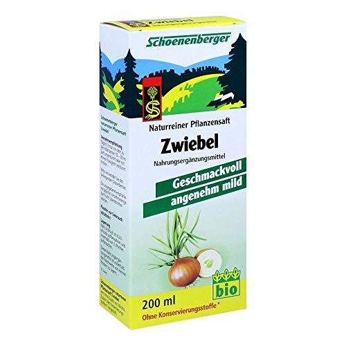 Schoenenberger, succo naturale di cipolla, 200 ml
