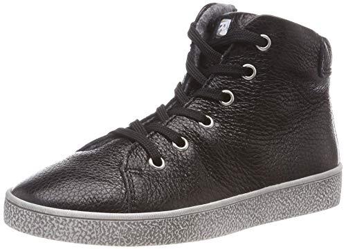 Richter Kinderschuhe Mädchen Rimmel Hohe Sneaker, Schwarz (Black 9900), 36 EU