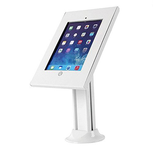 Maclean MC-677 Universal Tablet Tischhalterung mit Sicherheitsgehäuse für iPad 2/3/4/ Air, Air 2 Tablet Halterung Ständer mit Verriegelung