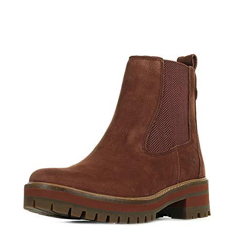 Timberland Damen Courmayeur Boots rot 36