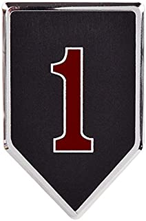Medals of America 1st Infantry Division Officially Licensed Car Emblem Multicolored