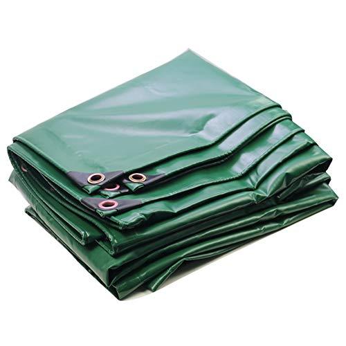 WHAIYAO Lona Resistente Tienda De Sombra Al Aire Libre Impermeable Anti-UV con Ojal Y Bordes Reforzados, 13 Tamaño (Color : Green, Size : 2X1.5M)