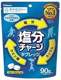 カバヤ 塩分チャージタブレッツ 90g×6袋入×(2ケース)