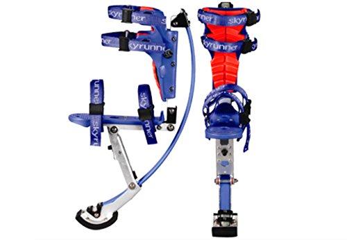 Zancos de saltar Esebiz Skyrunner para niños, 40–60kg, Ese-Blue_30-50, azul