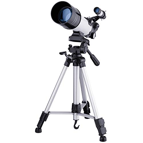 Eono by Amazon - Telescopio Astronómico 70, para Principiantes, Adultos - Blanco