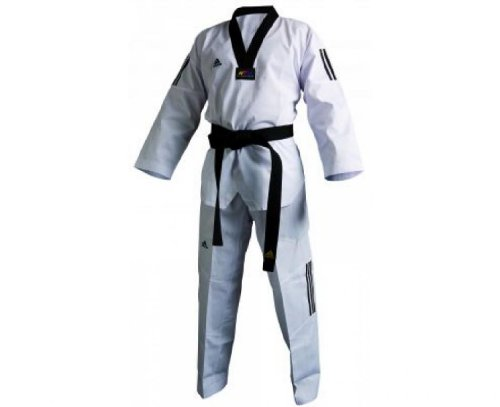 ADIDAS Mini Club Dobok, Blanco/Blanco, 130cm