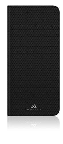 Black Rock - Material Booklet Pure Hülle für Samsung S8 | Wallet, Fächer, Standfunktion, magnetisch (Schwarz)