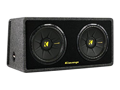 Kicker DCompS12-2x30 cm Dual Bassreflex Subwoofer