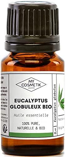 Aceite esencial de Eucalipto globulus orgánico - MyCosmetik - 10 ml