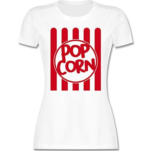 Carnaval & Carnaval - popcorn carnaval kostuum - dames T-shirt en vrouwen T-shirt