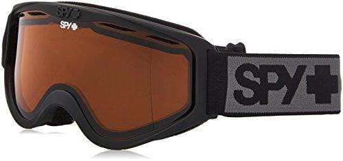 Spy Optic Cadet Snow Goggles, One Size (Matte Black Frame, Persimmon Lens)