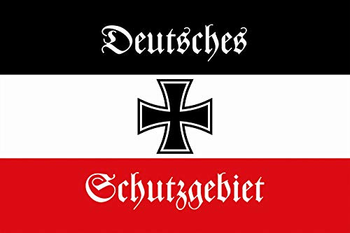 FS deutsches Schutzgebiet Blechschild Schild gewölbt Metal Sign 20 x 30 cm