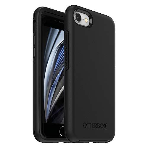 OtterBox Symmetry - Elegante, schlanke & sturzsichere Schutzhülle für iPhone 7/8/SE (2020), schwarz