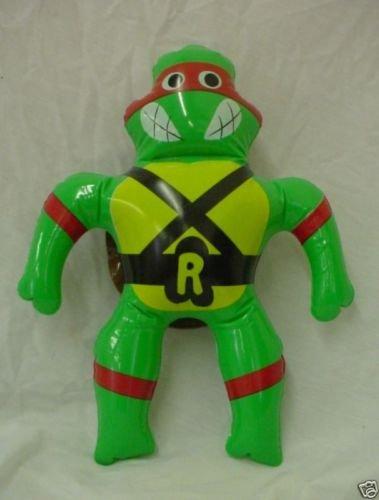 40cm Vintage Teenage Mutant Ninja Turtles Inflatable Toy - Red Turtle - Raphael