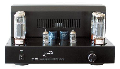 Dynavox VR-80E Röhren-Mono Vollverstärker schwarz