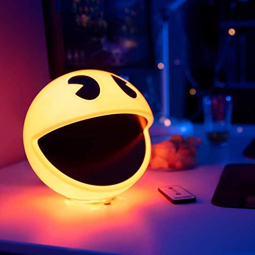 Pacman Z884195 - Lampada Pac-Man con suono, multicolore