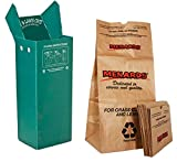 Leaf Chute bundle w/ 10 Lawn and Leaves Bags - DURABLE AND EASY TO USE