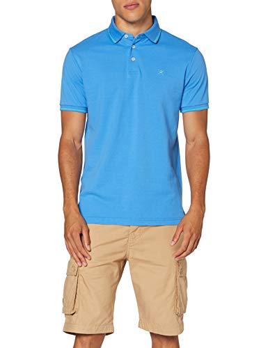 Hackett Herren Poloshirt Tennis Swim Trim, Blau (5kdregatta Blu 5kd), Large (Herstellergröße: L)