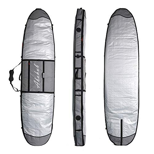 Abahub Premium 8'0 x 30 SUP Travel Bag, Foam Padded Stand-up Paddleboard Cover Case, Paddle Board Carrying Bags for Surfing, Outdoor, Airplane, Car, Truck