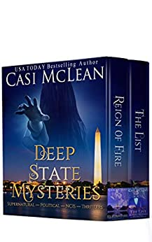 Deep State Mysteries Boxset: A Fast-Paced Gripping Series, Combining Supernatural, Romance, And NCIS In Two Stunning Thrillers. by [Casi McLean]