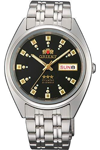Orient Reloj Analógico para Mujer de Automático con Correa en Acero Inoxidable FAB00009B9