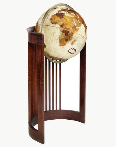 Replogle Globes Barrel Globe, Large, Bronze