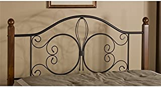 Hawthorne Collections King Poster Spindle Headboard in Textured Black
