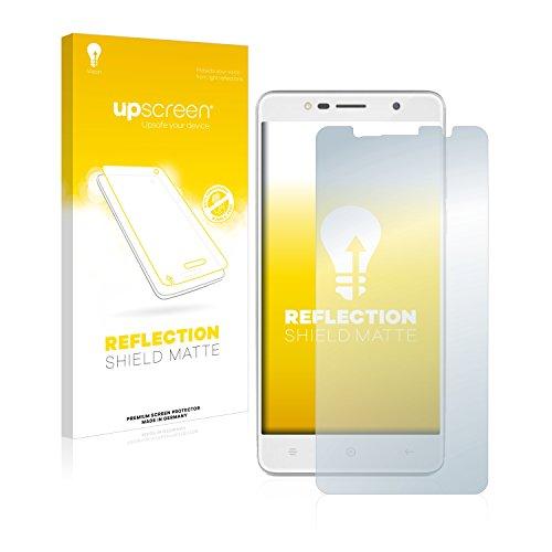upscreen Entspiegelungs-Schutzfolie kompatibel mit Haier Leisure L7 – Anti-Reflex Bildschirmschutz-Folie Matt