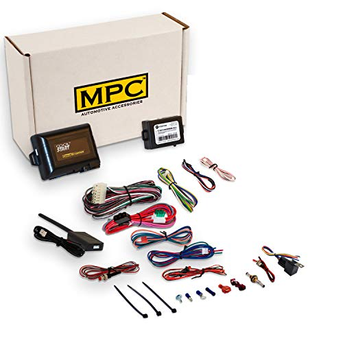 Complete 5-Button Remote Start Kit with Keyless Entry for 2009-2013 Mazda 3 - Fimrware Preloaded