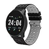 Montre Connectée Smart Watch suiveur de Fitness Montre Intelligente IP67 étanche Bracelet d'activité Podomètre Sommeil...