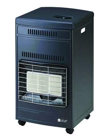 estufa infrarrojos GPL ventilada 4200W Color Gris