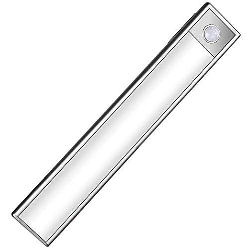 GUFAN LEDセンサーライト 最新版 室内 人感センサー 夜間ライト 階段ライト 足元灯 明るい 90ルーメン USB充電式 高感度 超寿命 マグネット付 小型 廊下/玄関/寝室/押し入れ/廊下に最適 (電球色)