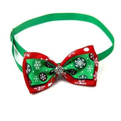 Animales de Navidad Disfraces Sombrero Fuentes de la Navidad del gato del perro casero Accesorios de Año Nuevo de Navidad for mascotas Headwear del sombrero Gato ajustable de la pajarita corbata de Na