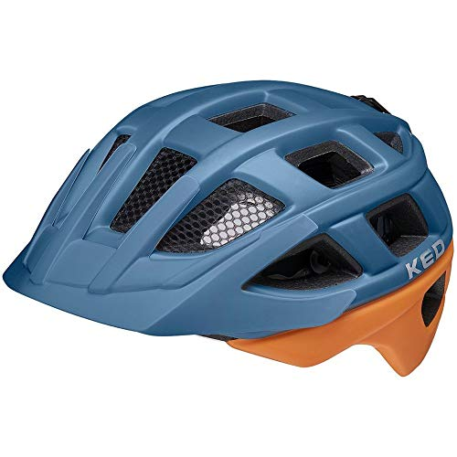 KED Kailu Helm Kinder deep Blue Cinnamon matt Kopfumfang M | 53-59cm 2021 Fahrradhelm