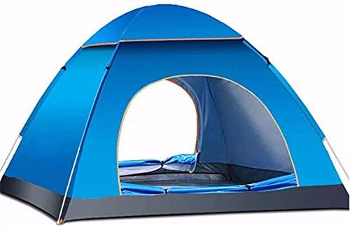 Equipo de camping Tienda de campaña Tienda de campaña cálida de invierno Tienda de campaña emergente instantánea al aire libre Tienda de campaña familiar Tienda de campaña familiar 3 personas 4 est