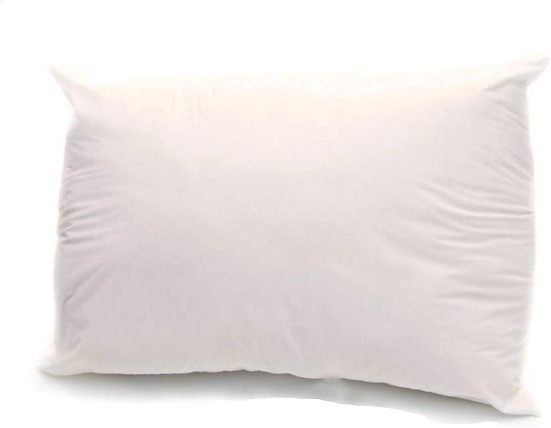 100% All Organic Cotton Fiber Medium Filled King Size Pillow