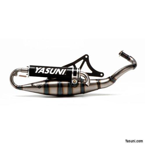 Tubo de escape Yasuni Scooter R Carbon – Piaggio Liberty 50 2T